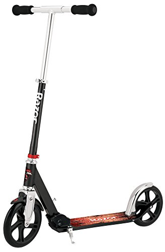 Razor A5 Lux Kick Scooter - Large 8' Wheels, Foldable, Adjustable Handlebars, Lightweight, for...