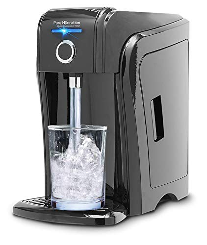 Pure Hydration Next Generation, Now Available, World's only All-Natural Alkaline Antioxidant Water Ionizer with Touch-Free Infrared On/Off Sensor and Smart Prompt Technology