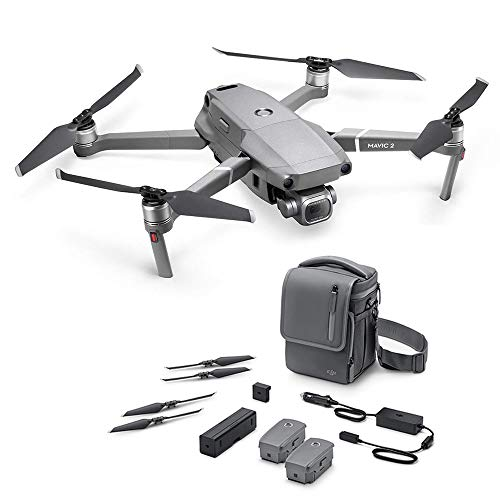 Dji Mavic 2 Pro Fly More Kit Combo, Include Drone con Hasselblad Fotocamera Hdr Video Apertura Variable 20 Mp