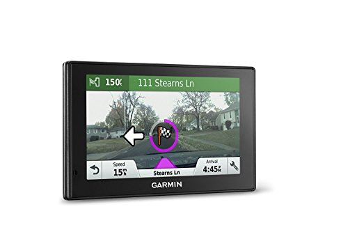 Garmin DriveAssist 50 NA LMT GPS Navigator System with Built-in Dash Cam, Camera-assisted Alerts, Lifetime Maps and Traffic, Smart Notifications, and Voice Activation (Renewed)