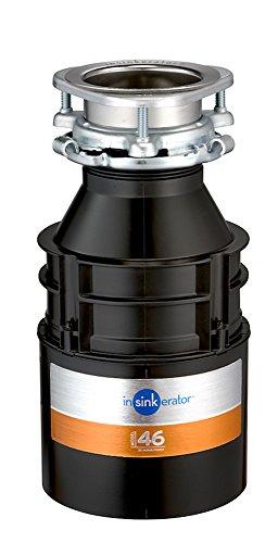 InSinkErator Müllschlucker/-zerkleinerer, Modell 46,Schwarz, 77969