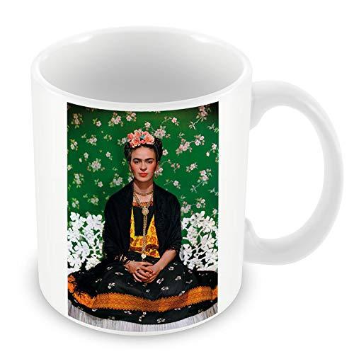 Taza de Cerámica Foto de la Famosa Estrella de Frida Kahlo pintor Original 10