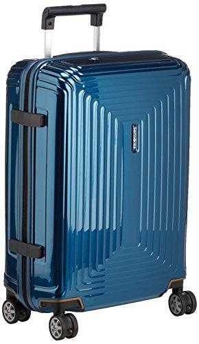Samsonite Neopulse - Spinner S (Larghezza: 20 cm) Bagaglio a Mano, 55 cm, 38 L, Blu (Metallic Blue)