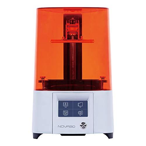NOVA3D ELFIN2 3Dプリンタ光造型UV 樹脂プリンター、プレレベリングデザインWIFI接続、130 * 70 * 150mm 印...