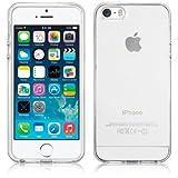 SDTEK Coque pour iPhone Se (2016-2019) / iPhone 5 / 5s Housse [Transparente Gel]...