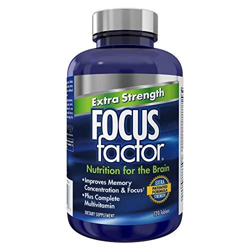 Focus Factor Extra Strength, 120 Count - Brain Supplement...