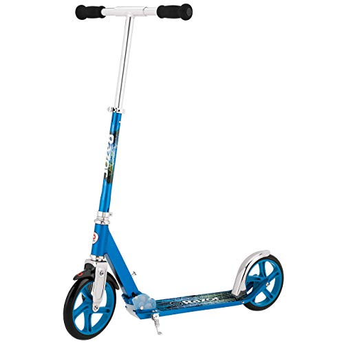 Razor A5 Lux Kick Scooter - Large 8' Wheels, Foldable, Adjustable Handlebars,...