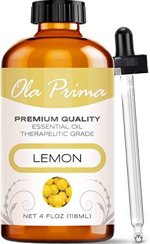 Ola Prima 4oz - Premium Quality Lemon Essential...