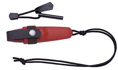 モーラ・ナイフ Morakniv Eldris Neck Knife Kit (Red)