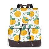 Yuanmeiju Womens Rucksack Backpack Lama and Cactus Cute Cartoon Animal Shoulder Daypack Leather College Bag Ladies