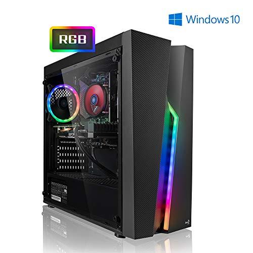 Megaport High End PC Gamer Racer Intel Core i5-9500F 6X 3.00GHz • GeForce RTX2070 8Go • 480Go SSD • 16Go DDR4 • 1 to • Windows 10 • WiFi Ordinateur de Bureau PC Gaming PC Ordinateur Gamer Ordinateur