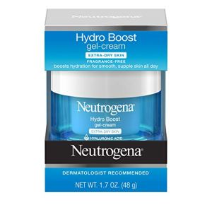 Neutrogena Hydro Boost Hyaluronic Acid Hydrating Gel-Cream Face Moisturizer to Hydrate & Smooth Extra-Dry Skin, Oil-Free… 4