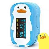 Saturimetro pediatrico a forma di pinguino