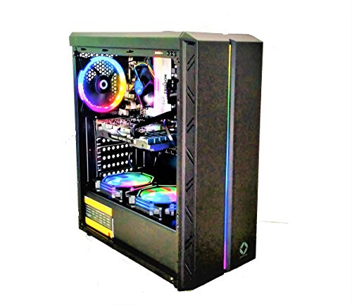 CHIST Gamer Pc Intel Core I5 4670/120GB SSD/1TB Hard Disk/1050Ti 4GB Graphic Card