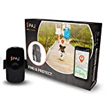 PAJ GPS PET Finder GPS Tracker Mini zum Schutz für Hunde und Katzen Wasserdicht etwa 2 Tage Akkulaufzeit (bis zu 3 Tage im Standby Modus) Live Ortung