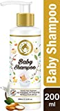 Mom & World Tear Free Baby Shampoo with Organic Moroccan Argan Oil and Oats Extract, 200ml