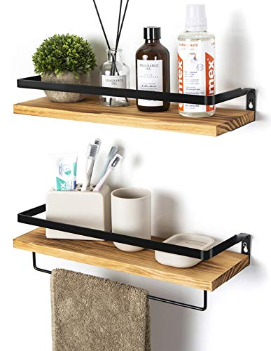 SODUKU Floating Shelves Wall Mounted Storage Shelves for Kitchen,...