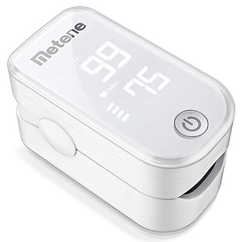 Metene Blood Oxygen Saturation Monitor with Pulse Rate