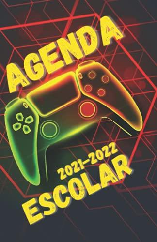 Agenda 2021 2022: Escolar Dia Por Pagine , 275 pagina , Septiembre 2021 - 10 JULIO 2022 , Regalo Niño Gamer