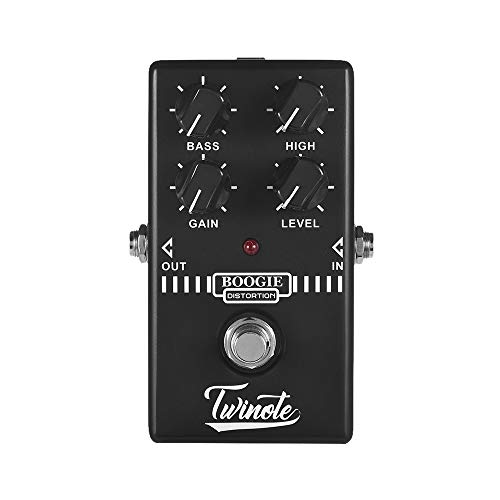 Twinote BOOGIE DISTORTION Analog Old School Distortion Guitar Effect Pedal