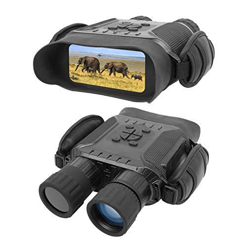 Bestguarder Binocolo per visione notturna Binoculare da caccia digitale ad infrarossi HD 4,5-22,5 x 40 mm con scheda di memoria 32G, immagine 2592 x 1944 e video 1280 x 720 e schermo LCD da 4 pollici