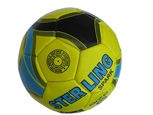 prospo football Size:5 (4ply)Yellow/Black/Blue