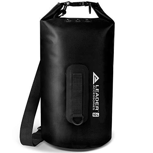 Leader Accessories New Heavy Duty Vinyl Waterproof 5L Red Dry Bag