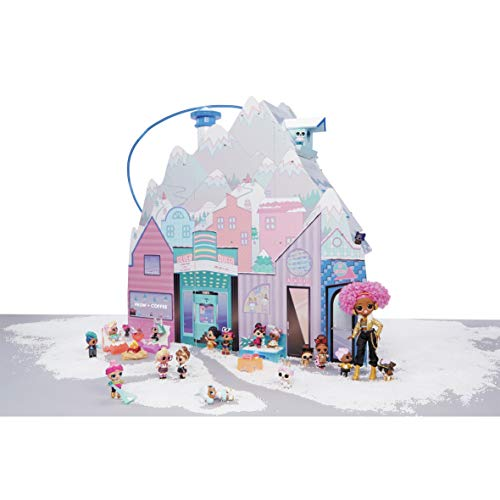 Image 3 - L.O.L. Surprise, Chalet Winter Disco - Chalet en Bois de 3 étages avec 2 Poupées 8cm, 1 pets 6cm et 95 Surprises, Fonctions de Jeu, Mobiliers et Accessoires, Jouet pour Enfants dès 3 Ans, LLUA1