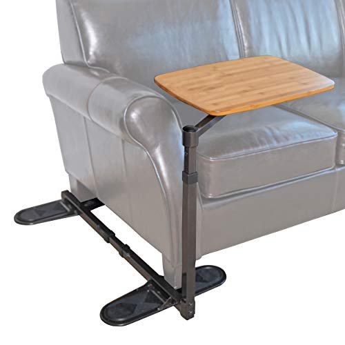 Able Life Universal Swivel TV Tray Table, Portable Laptop Desk, Adjustable Couch Desk for Computers