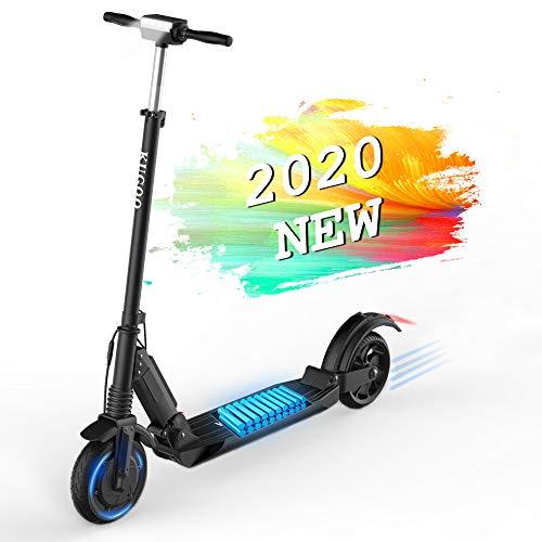Elektroscooter,KUGOO S1 Faltbarer Elektroroller,350W Motor 6AH batterie Die Höchstgeschwindigkeit erreicht 30km/h,8-Zoll-Reifen für Erwachsene und Jugendliche,mit CE-Zertifikat, kein ABE-Zertifikat