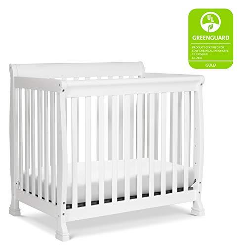Product Image 2: DaVinci Kalani 4-in-1 Convertible Mini Crib in White, Greenguard Gold Certified