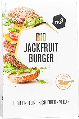 nu3 Bio Jackfruit Burger - 2 x 90g hamburguesas veganas hech