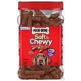 Milk-Bone Soft & Chewy Beef & Filet Mignon Recipe Dog Treats, 25 Ounces