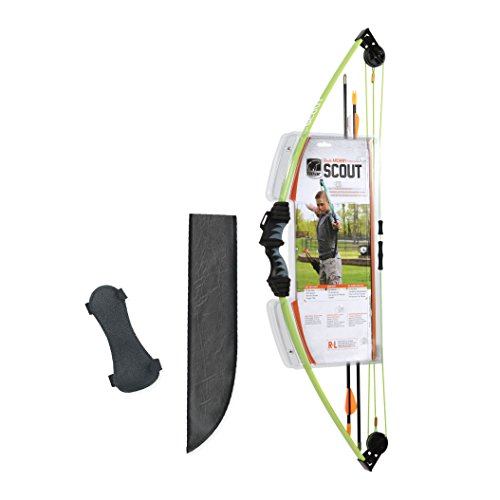 Bear Archery Scout Youth Bow Set Flo Green