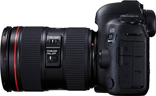 Canon EOS 5D Mark IV 30.4 MP Digital SLR Camera (Black) + EF 24-105mm is II USM Lens Kit 6