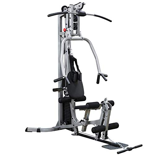 Powerline by Body-Solid BSG10X Home Gym with 160-Pound Weight Stack for Upper and Lower Body Workouts