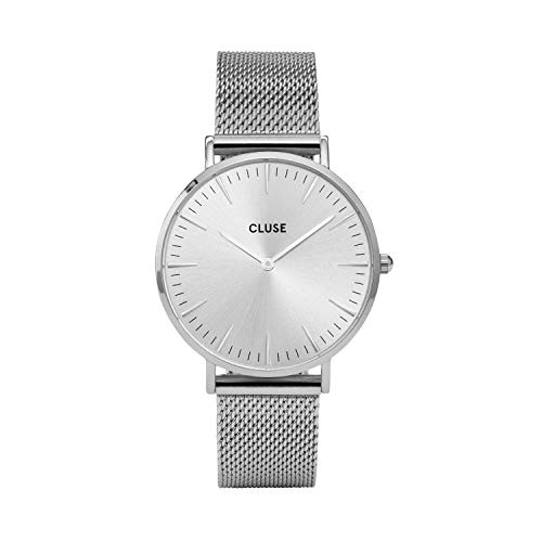 Cluse Damen Armbanduhr Analog Quarz Edelstahl CL18114
