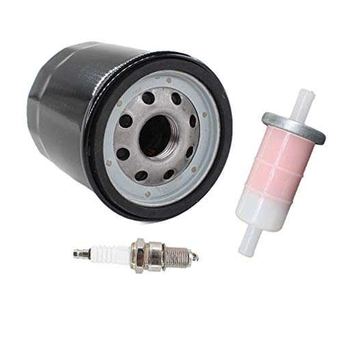 AISEN Tune Up kit for Kawasaki Mule KAF400 KAF 400 500 520 600 610 550 KAF300 Spark Plug Oil Fuel Filter