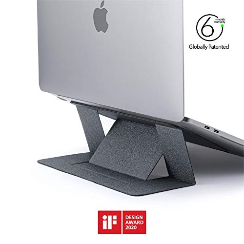 MOFT Invisible Slim Laptop Stand, Adhesive And Reusable, Adjustable...