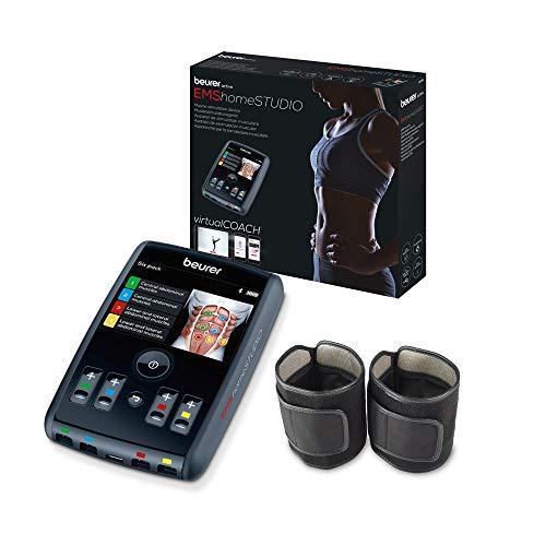 Beurer EM95 Electroestimulador Digital Cuerpo con Bluetooth, EMS, app...