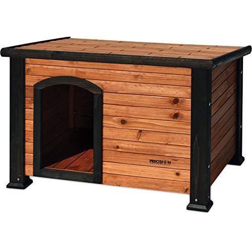 Precision Pet Outback Log Cabin Dog House,...
