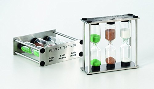 Perfekt Tee Timer (Tee-Sanduhr) 3, 4 und 5 Minuten