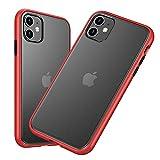 Eazaki iPhone11 ケース 6.1インチ 半透明 持ちやすい マット感 指紋や汗防止 すり傷防止 ワイ……