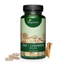 CANNELLA Vegavero® | 2000 mg | Vincitore del confronto 2019* | CEYLON: la varietà migliore | 120 capsule | Vegan