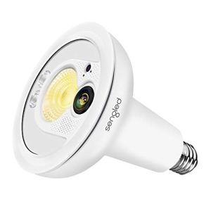 Sengled Smartsense Motion Sensor & Light Sensor Bulb Outdoor Waterproof LED Flood Light Bulb 3000K Dusk to Dawn PAR38 E26 Lamp,2 Pack