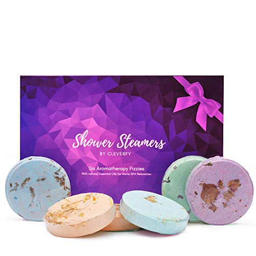 Cleverfy Aromatherapy Shower Steamers - Father's Day Variety...