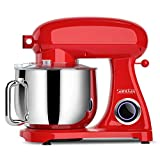 SanLidA Pro Stand Mixer, 800W 8.5-Qt. Kitchen Mixer with Dishwasher-Safe Dough Hooks, Flat Beaters,...