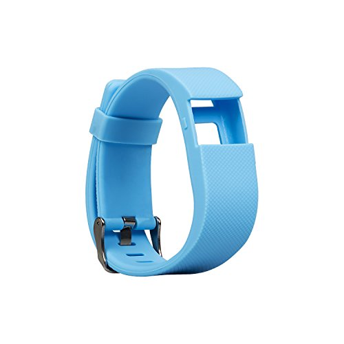BLUEWEIGH Super Sport Replacement Wristband for Fitness Activity Trackers (Blue)