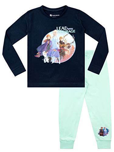 Disney Girls Frozen Pajamas Multicolored