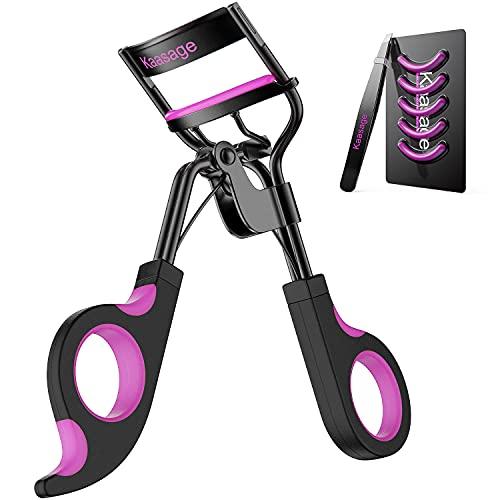 Kaasage Eyelash Curler with Pads - Lash Curler...